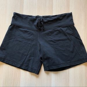 Black Lululemon Spandex Shorts